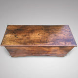 19th Century Elm Coffer - Top View - 3