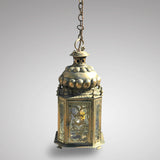 19th Century Dutch Octagonal Hall Lantern - Main View - 2