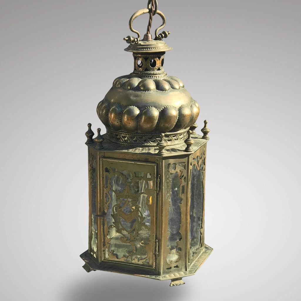 19th Century Dutch Octagonal Hall Lantern - Main View - 1