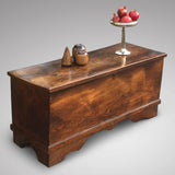 19th Century Elm Coffer - Side & Front View - 2