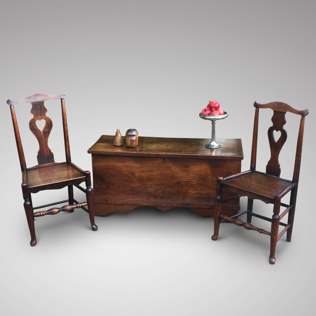 A Matched Pair of Welsh Oak Side Chairs - Hobson May Collection - 14