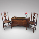 19th Century Elm Coffer - Room Set View - 7