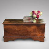 19th Century Elm Coffer - Front View- 1