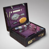 Edwardian Crocodile Leather Dressing Case - Hobson May Collection - 2