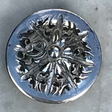 Pair of Victorian Silver Pepperettes - Top View - 4