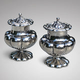 Pair of Victorian Silver Pepperettes - Main View - 2