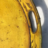 19th Century Painted Toleware Tray - Detail View - 4