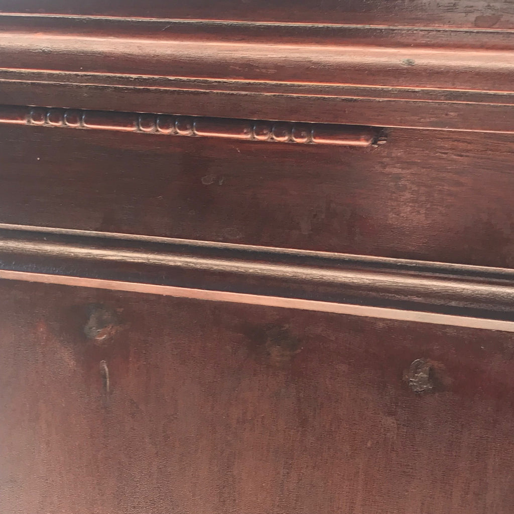 19th Century Amberg Mahogany Filing Cabinet - Detail View - 9