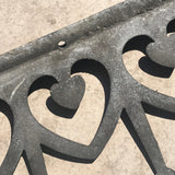 Decorative Antique Wrought Iron Edging - Detail View - 2