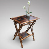 Victorian Bamboo Side Table - Hobson May Collection - 4