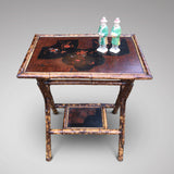 Victorian Bamboo Side Table - Hobson May Collection - 2