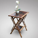 Victorian Bamboo Side Table - Hobson May Collection - 1
