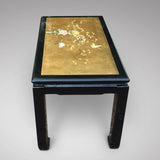 Oriental Lacquered Coffee Table - View end on- 3