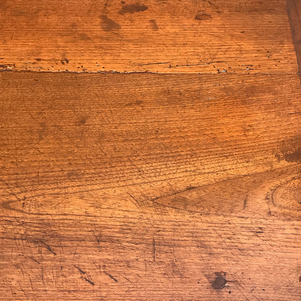 Early 19th Century Fruirwood & Elm Side Table - Detail View - 2