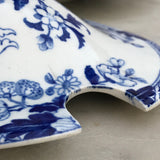 19th Century Wedgwood Sauce Tureen - Detail View of Lid Ladle Inlet - 4