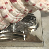 Scottish Silver Mounted Shell Table Decoration - Base Detail View - 6