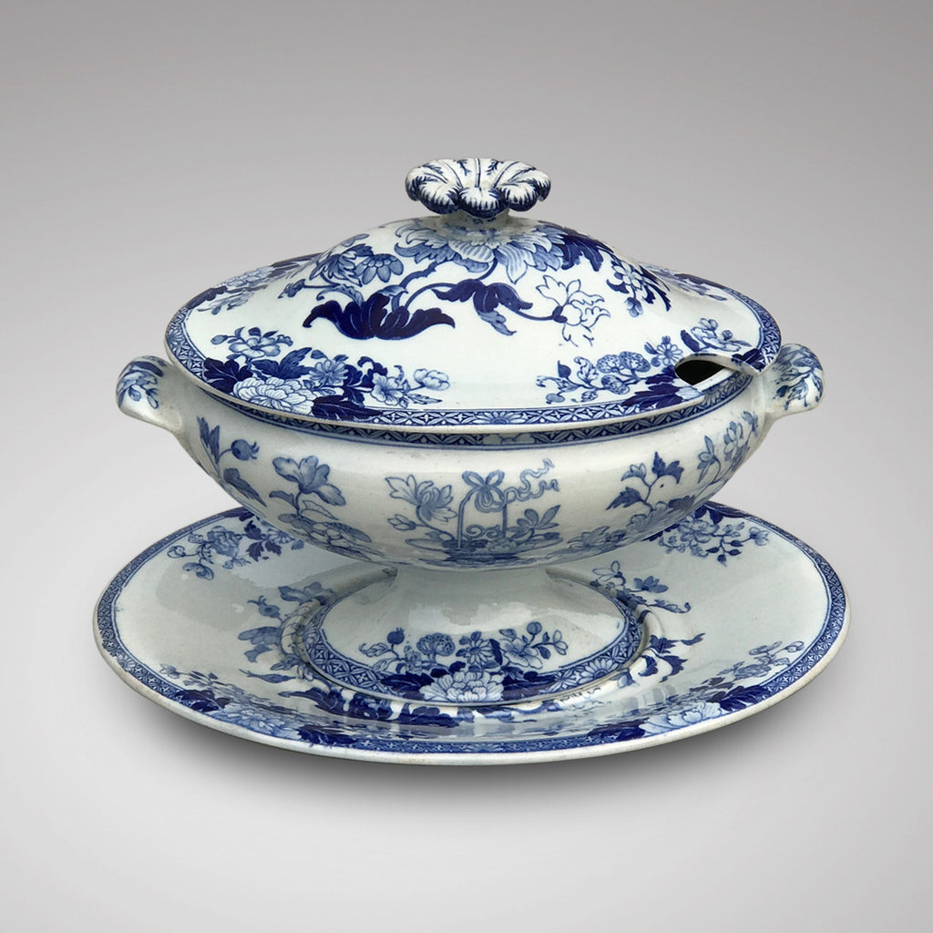 19th Century Wedgwood Sauce Tureen - Main Front View - 1
