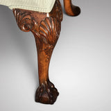 Pair of George II Style Side Chairs -Detail of Cabriole Leg-5