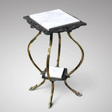 19th Century Cast Iron & Brass Jardiniere Stand - Main View - 1