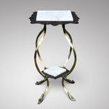 19th Century Cast Iron & Brass Jardiniere Stand - Main View - 3