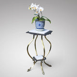 19th Century Cast Iron & Brass Jardiniere Stand - Main View - 2