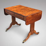 Regency Yew Wood Sofa Table