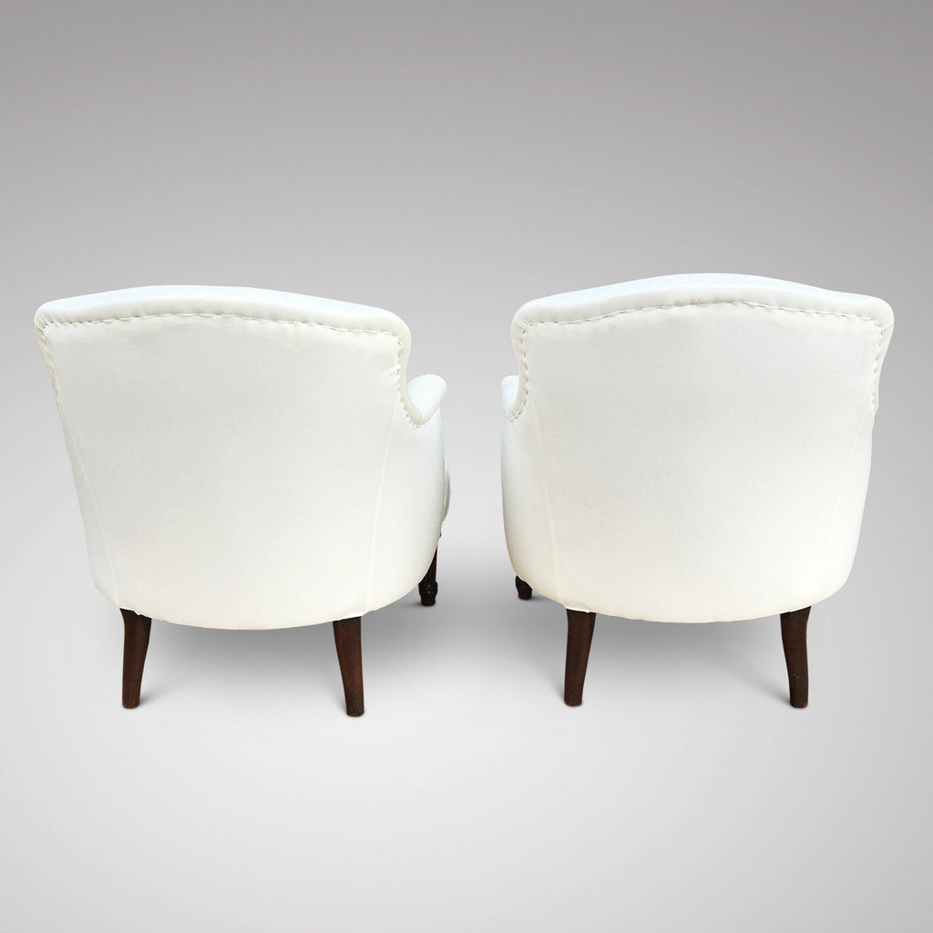 Pair of 19th Century French Armchairs - Back View - 5