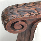 Pair of 19th Century French Armchairs - Close Up Carved Detail - 4