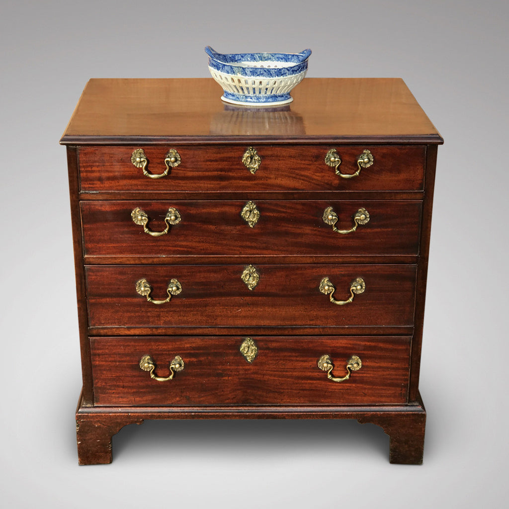 George III Mahogany Chest of Drawers - Front View - 1