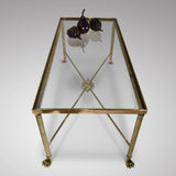 Mid 20th Century Brass Coffee Table - View Lengthways - 2