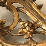 18th Century Carved Giltwood Mirror - Carved Detail View - 7