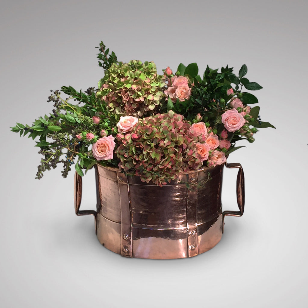 Arts and Crafts Copper Planter - Main View - 1