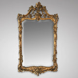 18th Century Carved Giltwood Mirror - Main View - 1