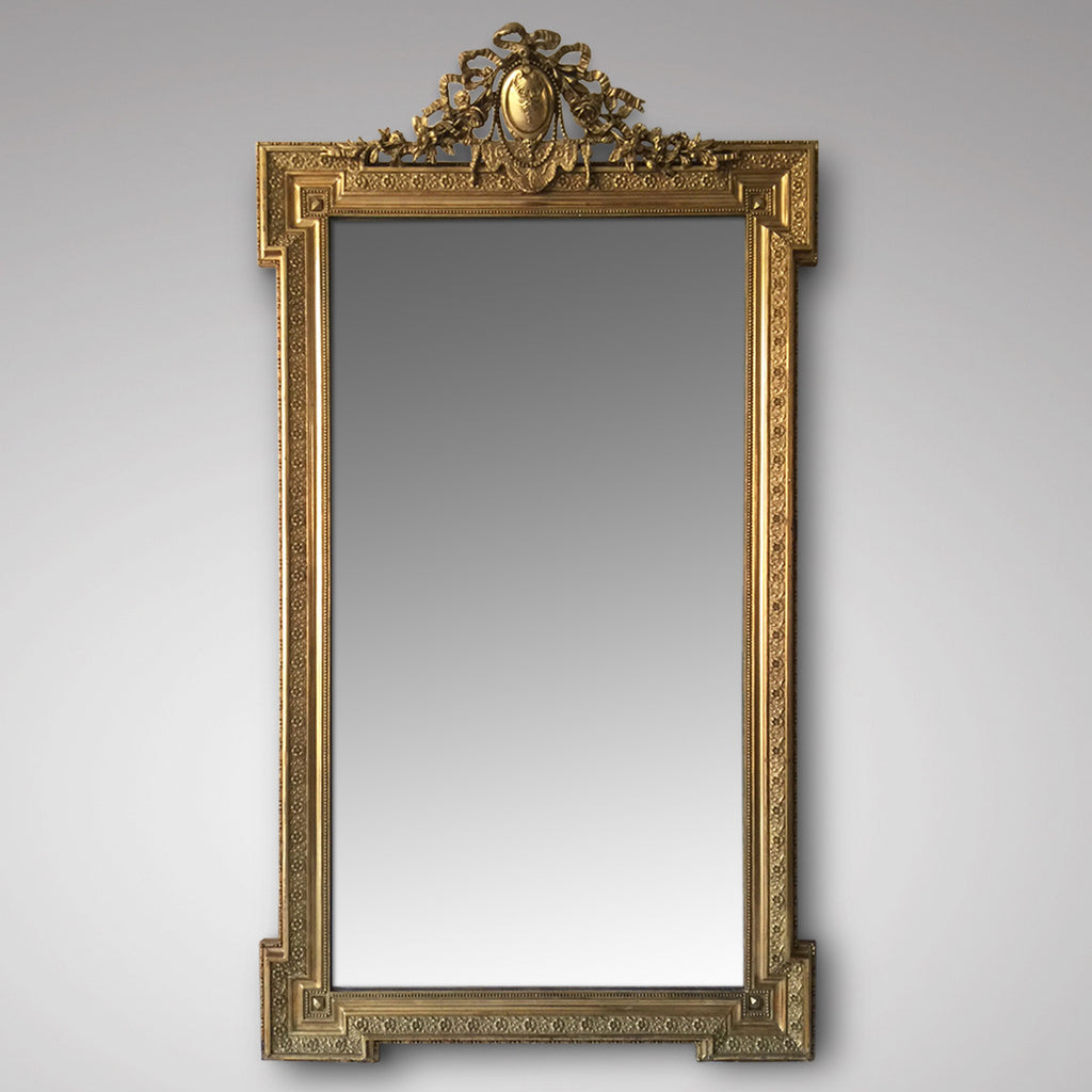 19th Century French Mirror - Main Image - 1