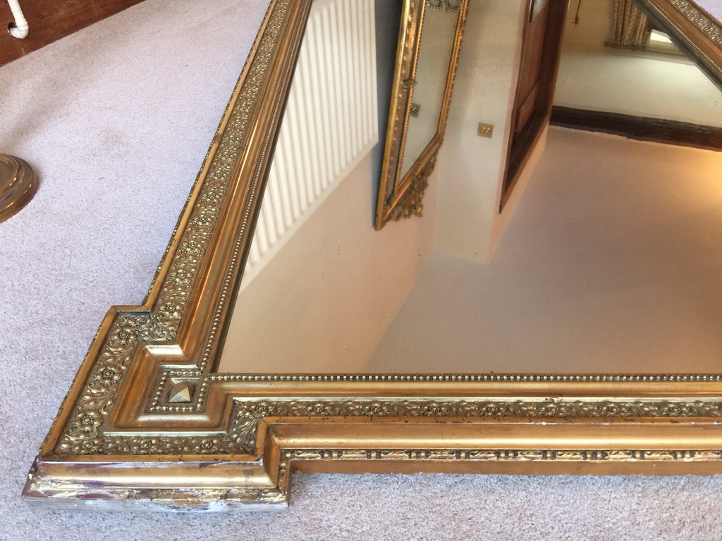 19th Century French Mirror - Frame Detail - 5