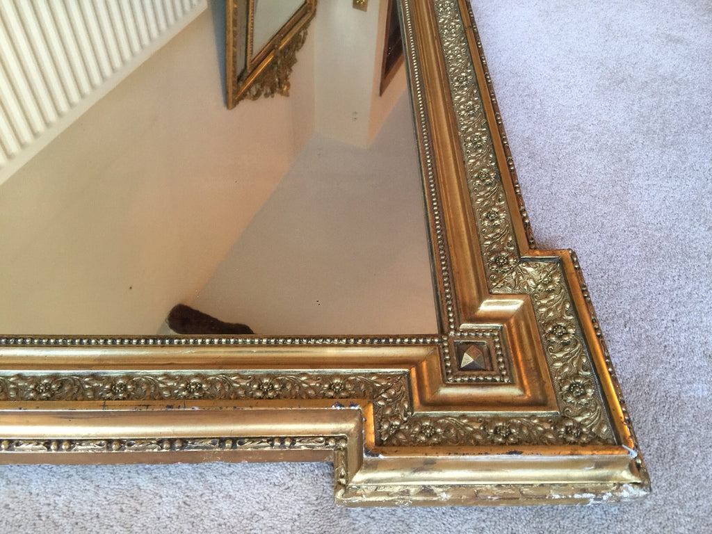 19th Century French Mirror - Frame Detail  - 6