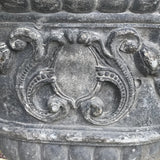 A Fabulous Pair of 18th Century Lead Garden Urns - Decoration Detail -7