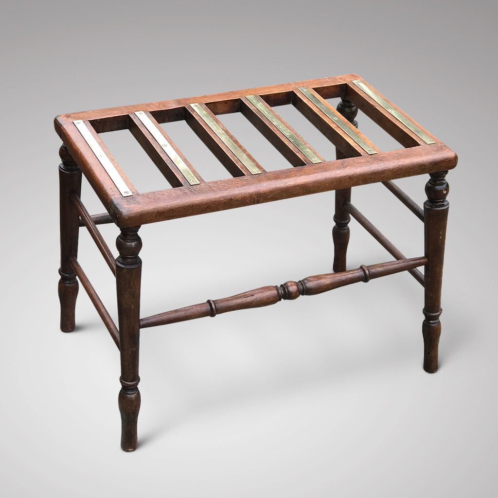Early 20th Century Mahogany Luggage Rack - Main View - 1