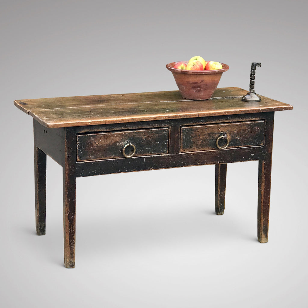 18th Century Welsh Oak Serving Table - Main View - 1