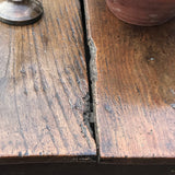 18th Century Welsh Oak Serving Table - Top Detail View - 6