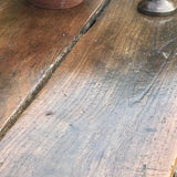 18th Century Welsh Oak Serving Table - Top Detail View - 7