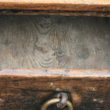18th Century Welsh Oak Serving Table - Drawer Detail View - 8