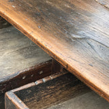 18th Century Welsh Oak Serving Table - Drawer Detail View - 10