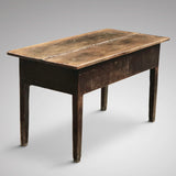 18th Century Welsh Oak Serving Table - Back & Side  View - 2