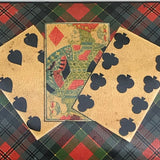 Mauchline Ware McPherson Tartan Ware Playing Card Box - Detail View -8