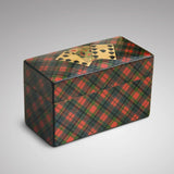 Mauchline Ware McPherson Tartan Ware Playing Card Box - Main View -1