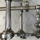 19th Century Silver Plated Wine/Port Cradle - Detail View - 5