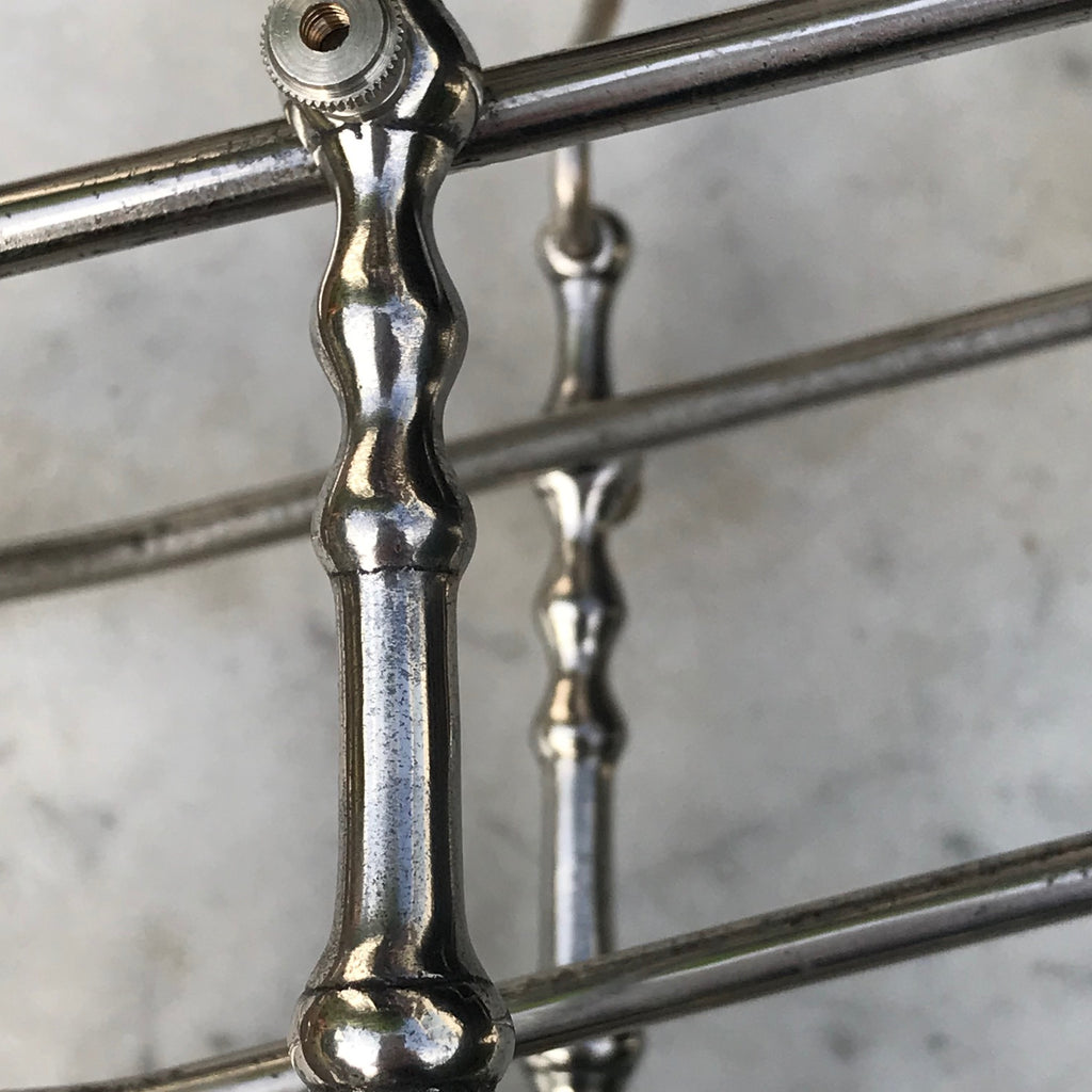 19th Century Silver Plated Wine/Port Cradle - Detail View - 6
