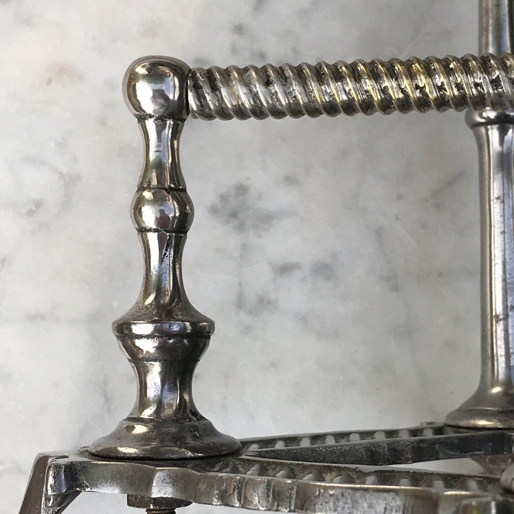 19th Century Silver Plated Wine/Port Cradle - Detail View - 7