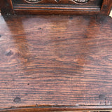Two 18th Century Oak Lorraine Chairs - Seat View - 4